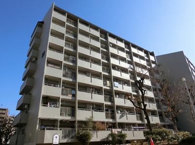 【現地写真】鉄筋コンクリート造8階建て、総戸数311戸の大型マンション♪