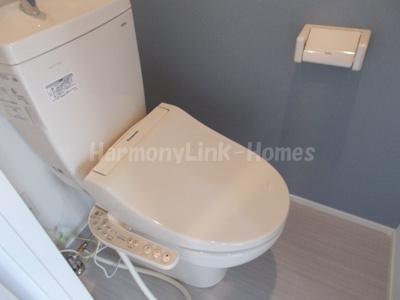 FIORE Ⅱの落ち着いたトイレです