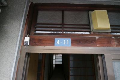 【エントランス】山城町2丁目長屋