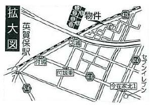 【地図】姫路市町坪新築戸建て4号棟