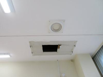 空調設備は入居者様で設置してください