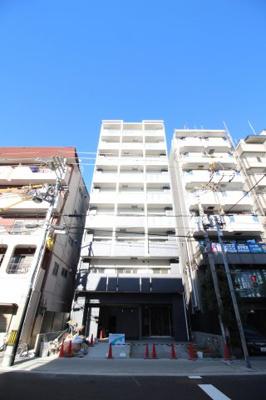(仮称)阿倍野区三明町2丁目マンション 鉄筋コンクリート造 9階建 ※写真は、完成次第UP予定です。