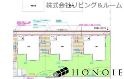 【区画図】HONOIE