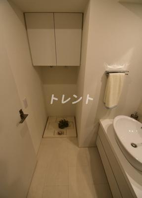 【洗面所】カナルフロント芝浦