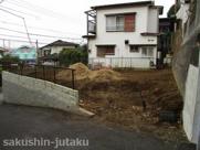 八千代市大和田 土地 角地 建築条件なしの画像