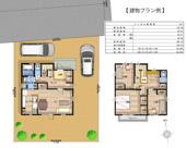 鴻巣市北新宿の売地 A区画 (全4区画)【No.10306】の画像