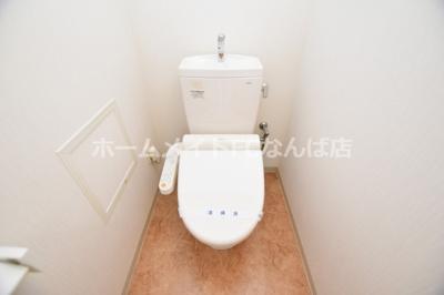 【トイレ】レジデンス・スエヒロ上本町