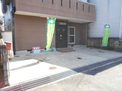 駐車並列2台可能