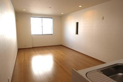 【施工例】実際に建築したお家のリビングです。 ご家族のくつろぐリビングは広い方がよいですよね♪