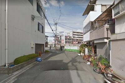 【現地写真】 前面道路です♪