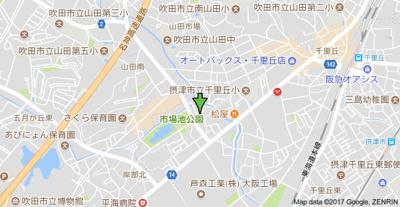 【地図】ハイツ根木