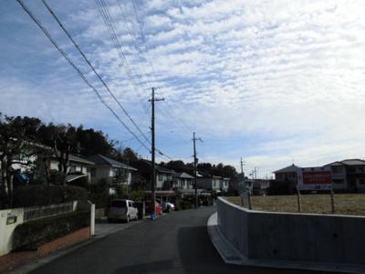 分譲地前面道路別角度