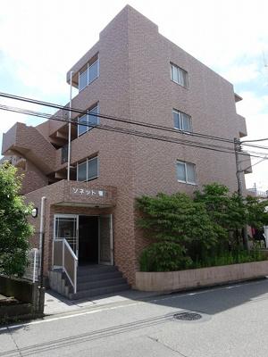 東横線「綱島」駅徒歩圏内!お買い物に便利な「アピタテラス横浜綱島」まで徒歩2分☆鉄筋コンクリートの4階建てマンションです♪