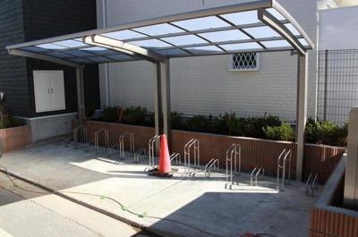 NEKO BUS:駐輪場があるので自転車通勤や通学が可能です