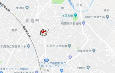 【地図】クレイノポモドーロ(56767-305)