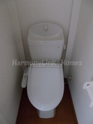 グレースロワのゆったりとした空間のトイレです