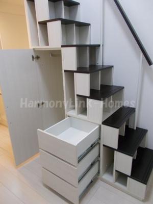 ハーモニーテラス南池袋Ⅱの収納付き階段★