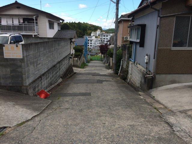 【前面道路含む現地写真】常磐湯本町 売土地