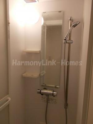 stage北新宿Ⅱのコンパクトで使いやすいシャワールームです☆