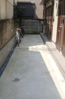 stage北新宿Ⅱの駐輪スペース☆