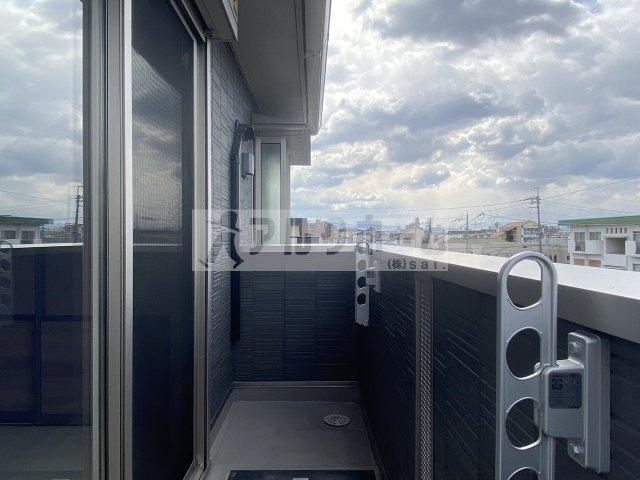 Grand Sageグランサージュ(柏原市平野・堅下駅・法善寺駅) バルコニー