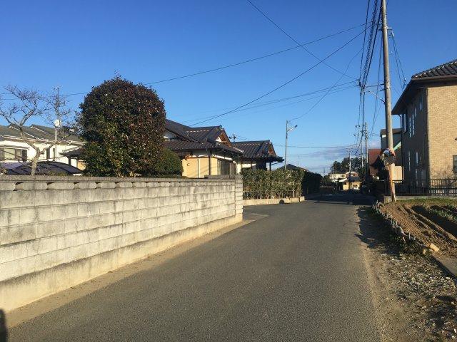 【前面道路含む現地写真】勿来町窪田 分譲3区画