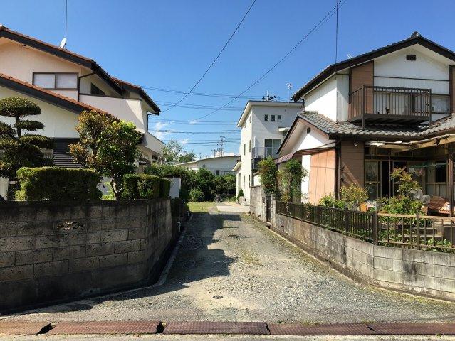 【前面道路含む現地写真】東田町金子平 A区画