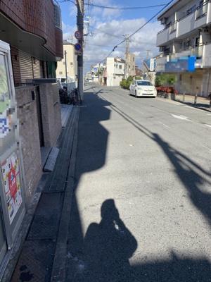 【前面道路含む現地写真】門真市中町中古戸建