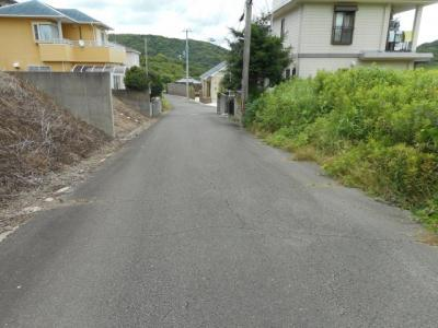 【前面道路含む現地写真】【売地】加太中学校区・56477