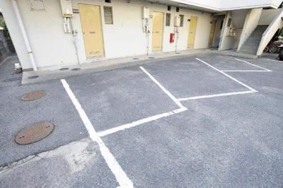 【駐車場】コーポIVY A棟