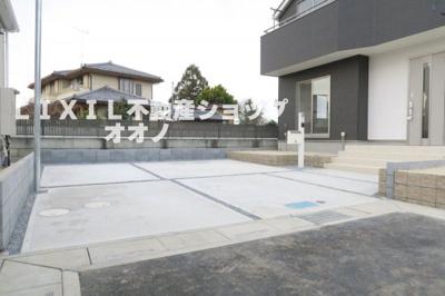 【駐車場】羽生市藤井上組 新築住宅全4棟 3号棟