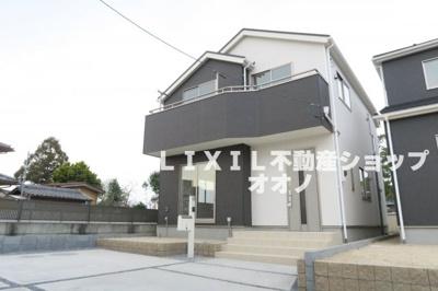 【外観】羽生市藤井上組 新築住宅全4棟 3号棟