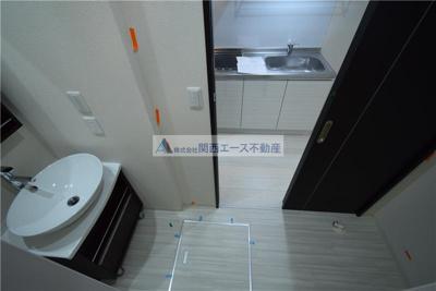【独立洗面台】フジパレス吉田本町Ⅰ番館