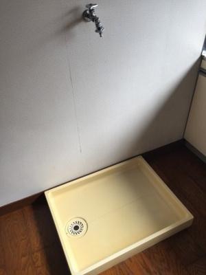 室内洗濯機置場があります