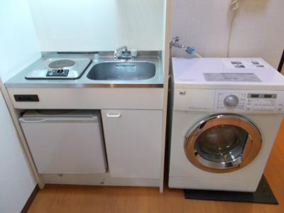 ベルビー小豆沢のキッチン・洗濯機(配置)☆