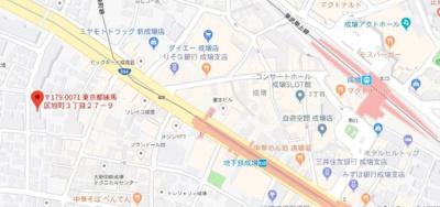 【地図】プライムコート成増