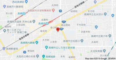 【地図】フレディハイツ京口パート1