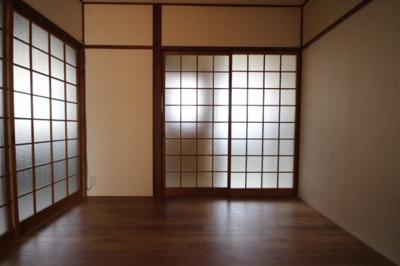 【寝室】マンション中郷