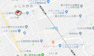 【地図】レオパレスリバストンふじみ野(32113-203)