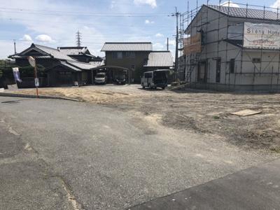 【前面道路含む現地写真】加東市上滝野分譲地 6号地