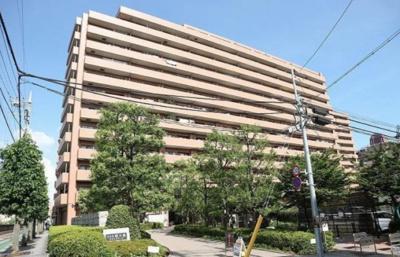 【外観】コスモ西大島グランステージ 西棟 12階部分 リノベーション済