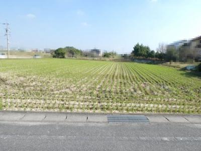 【前面道路含む現地写真】高浜市清水町売土地