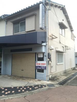 【外観】岡山貸店舗 北側