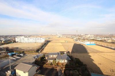 6階からの眺望♪ リフォーム済み♪平日もご案内可能です♪事前にご予約下さい♪三郷新築ナビで検索♪