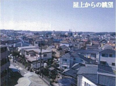 【展望】横浜市金沢区駐車場9台分付4階建ビル