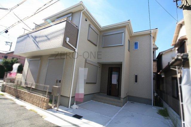 【外観】堺市西区 上野芝向ヶ丘町 新築一戸建て