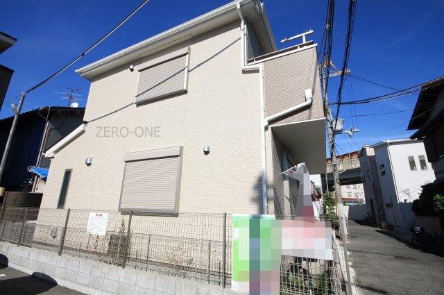 【前面道路含む現地写真】堺市西区 上野芝向ヶ丘町 新築一戸建て