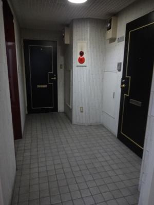 金子ビル 共用廊下 お問い合わせは株式会社メイワ・エステートへ