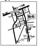 【地図】(仮)南青山1丁目計画