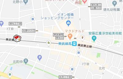 【地図】レオネクスト煌めき(52381-203)